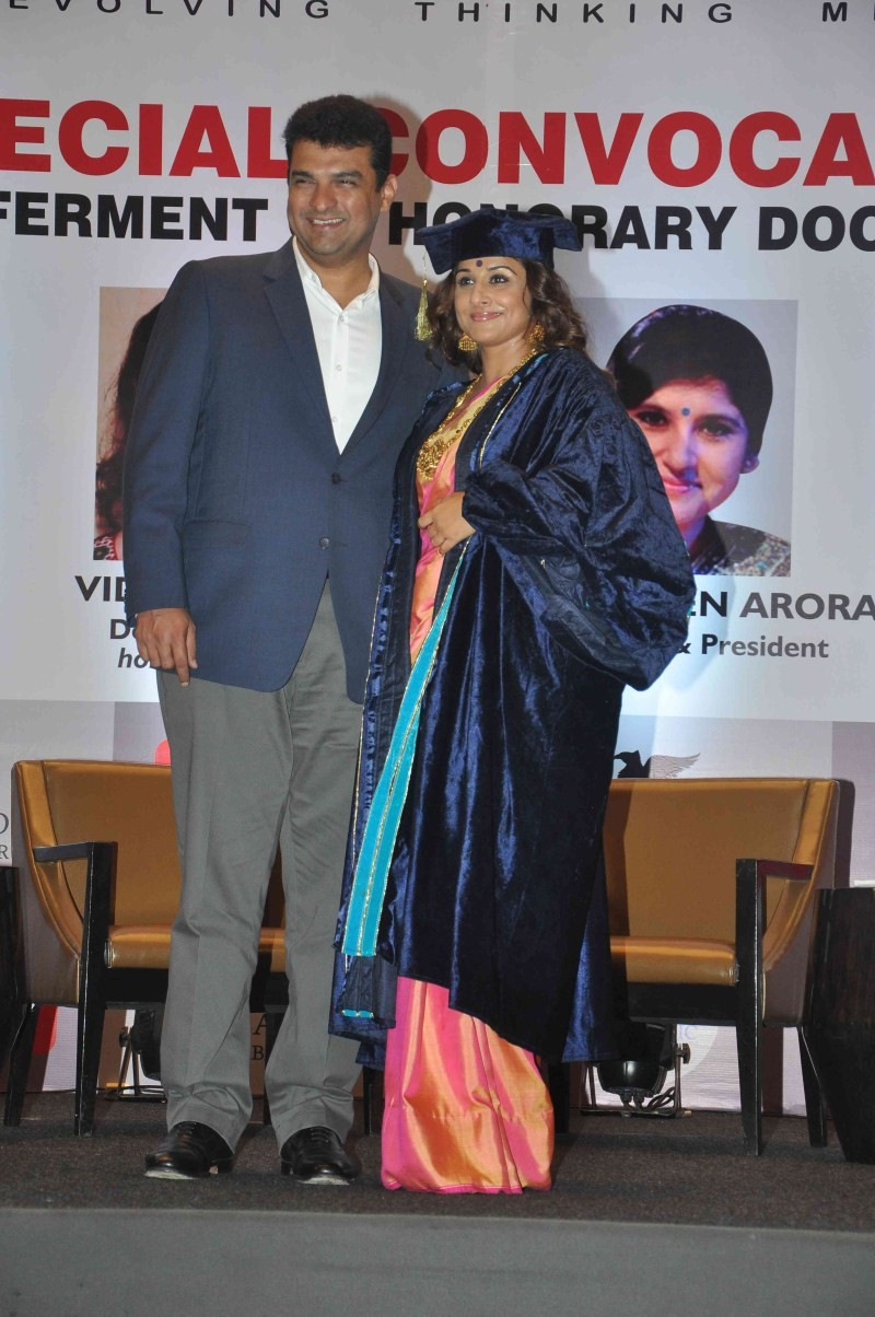 Vidya Balan gets honorary doctorate for her contribution to Indian cinema