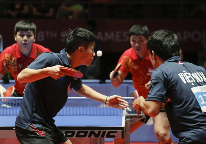 28th SEA Games Singapore 2015,28th SEA Games,28th SEA Games 2015,SEA Games 2015,2015 Southeast Asian Games,Table Tennis,Table Tennis Doubles,28th Southeast Asian Games,Asian Games