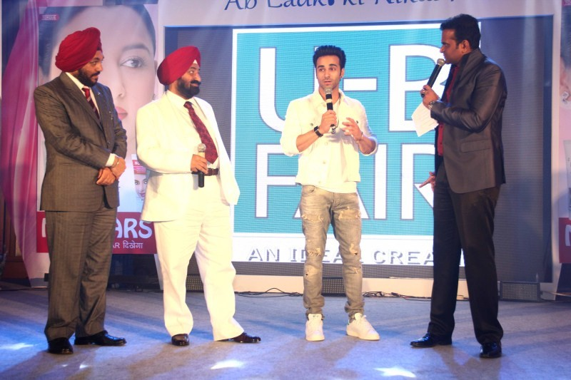 U B Fair Cream for Men,Launch of U B Fair Cream for Men,Fair Cream for Men,Cream for Men,Richa Sinha,Pulkit Samrat,Nandita Puri
