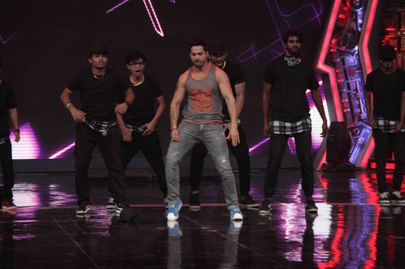 India's Got Talent On the Sets