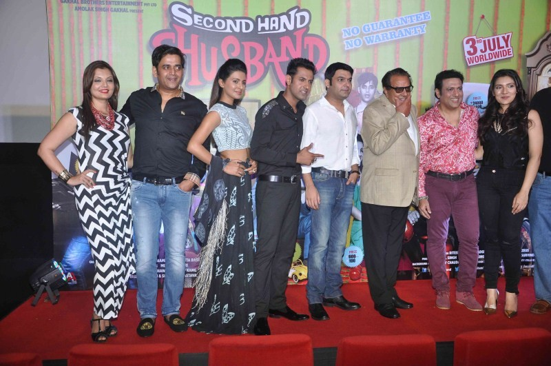 Second Hand Husband First Look and Trailer Launch,Second Hand Husband First Look,Second Hand Husband Trailer Launch,Second Hand Husband,bollywood movie Second Hand Husband,Dharmendra,Govinda