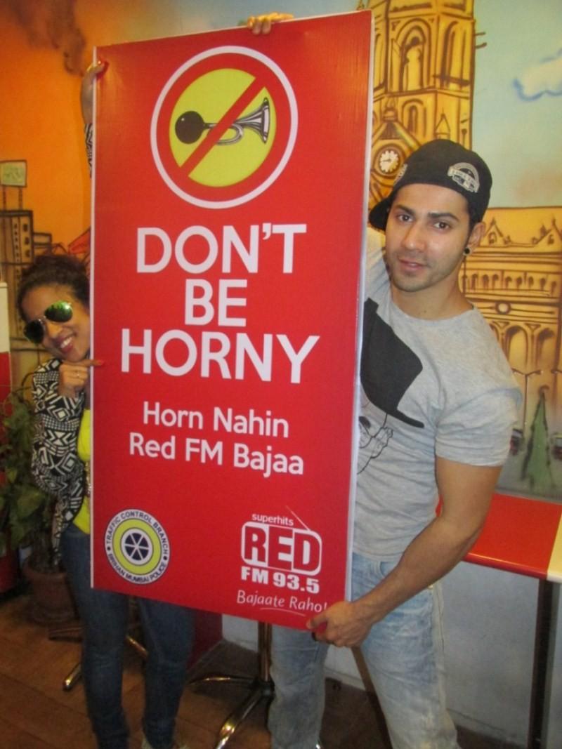 Shraddha Kapoor and Varun Dhawan endorse Red FM's Campaign,Shraddha Kapoor endorse Red FM's Campaign,Varun Dhawan endorse Red FM's Campaign,Shraddha Kapoor and Varun Dhawan,Shraddha Kapoor,Varun Dhawan,Shraddha Kapoor pics,Shraddha Kapoor images,Shraddha