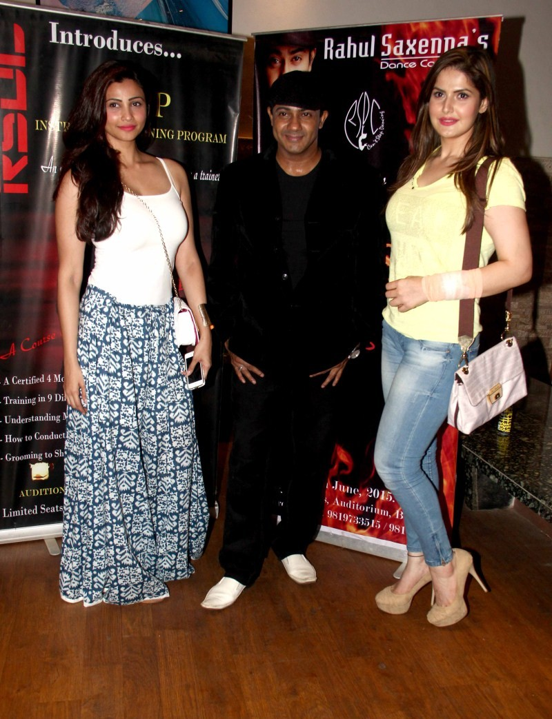 Daisy Shah Dance Fest at St. Andrews Auditorium,Zarine Khan at Dance Fest at St. Andrews Auditorium,Rahul Saxena's Dance Fest at St. Andrews Auditorium,Rahul Saxenna Dance Fest at St. Andrews Auditorium