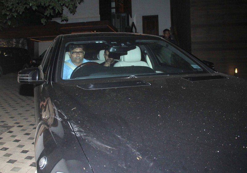 Aamir Khan,actor Aamir Khan,Aamir Khan snapped at Imran Khan house,Aamir Khan snapped at Avantika Malik's house,Aamir Khan snapped at Imran Khan and Avantika Malik's house,Aamir Khan pics,Aamir Khan images,Aamir Khan photos,Aamir Khan stills,Aamir Khan pi