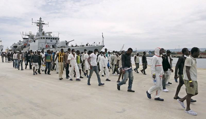 Italian coast guard,300 sub-Saharan,Sicily coast,On Al Jazeera,Italy's coast guard,Italian coast guard rescues,italian maritime rescue coordination centre,Italian coastguard,Sicilian harbour,migrants