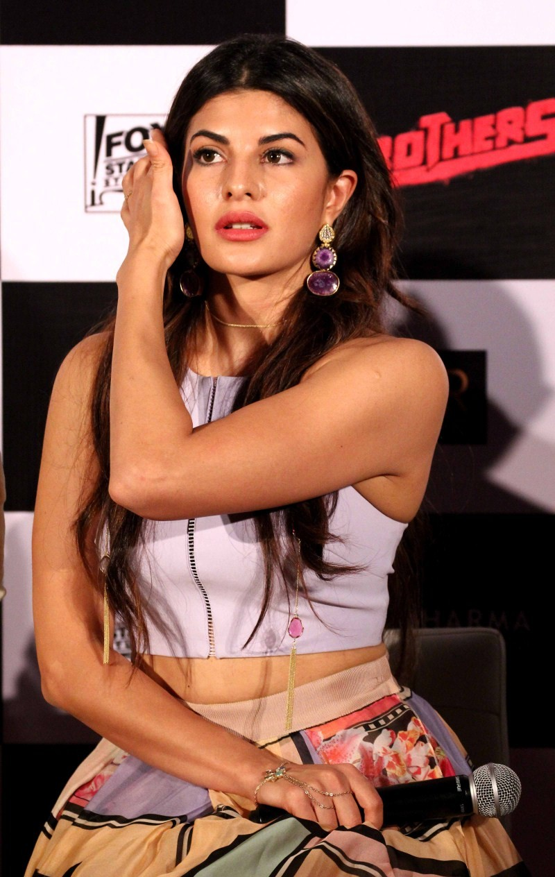 Jacqueline Fernandez,actress Jacqueline Fernandez,Jacqueline Fernandez at Brothers Trailer Launch,Brothers Trailer Launch,Jacqueline Fernandez pics,Jacqueline Fernandez images,Jacqueline Fernandez photos,Jacqueline Fernandez stills,Brothers Trailer Launch