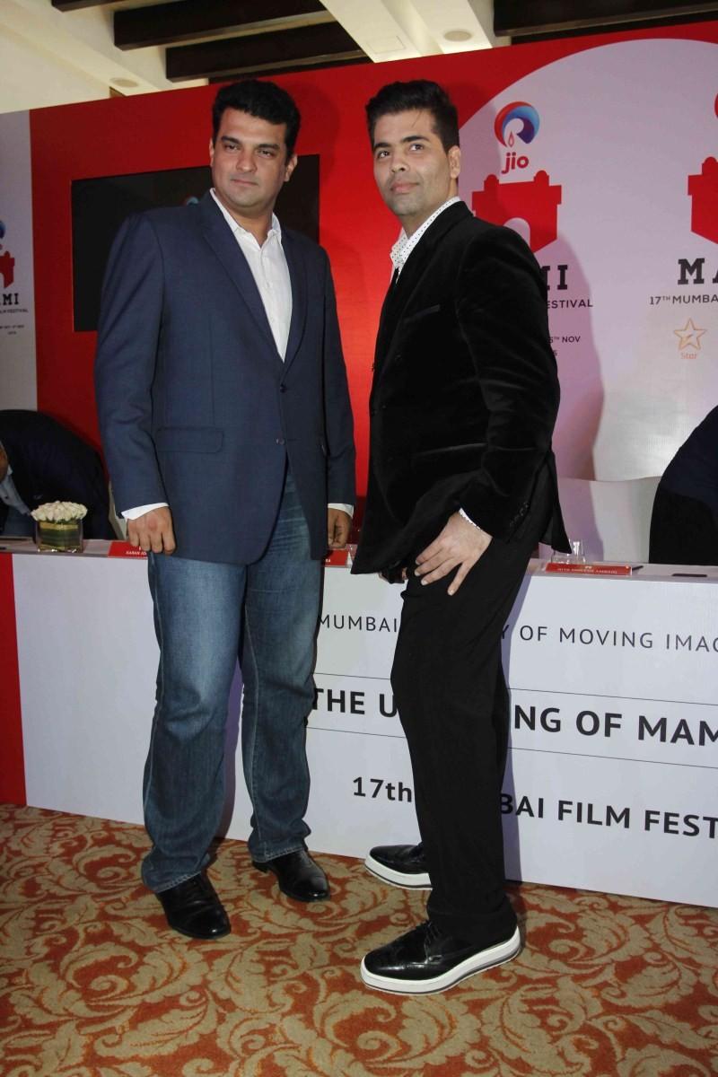 17th Mumbai Film Festival,Announcement of 17th Mumbai Film Festival,Karan Johar,Kiran Rao,Siddharth Roy Kapur,17th Mumbai Film Festival press meet