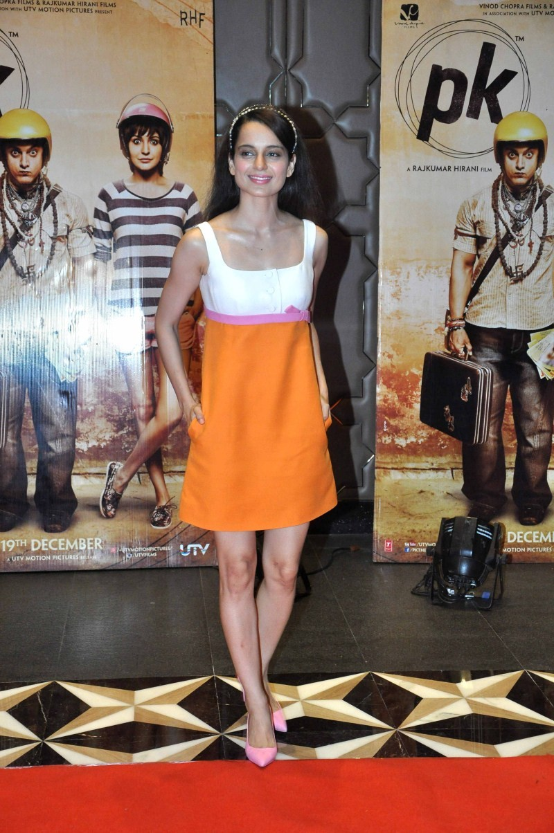Kangna Ranaut,actress Kangna Ranaut,Kangna Ranaut pics,Kangna Ranaut images,Kangna Ranaut stills,PK Success Party,PK Success Party pics,PK Success Party images,PK Success Party stills