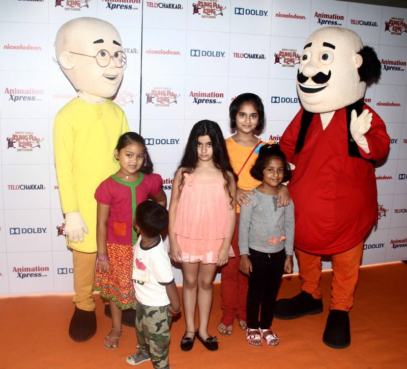 Motu Patlu,Motu Patlu Special Screening,Motu Patlu Special Screening pics,Motu Patlu Special Screening images,Motu Patlu Special Screening photos,Motu Patlu Special Screening stills,Motu Patlu Special Screening Pictures