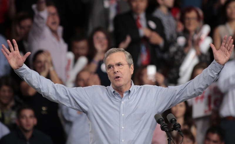 Jeb Bush,Jeb Bush's White House Bid,White House Bid,White House,11th Republican,White House run,Jeb Bush strikes softer tone,Washington,Jeb Bush Kicks Off 2016,Republican presidential nomination,nomination