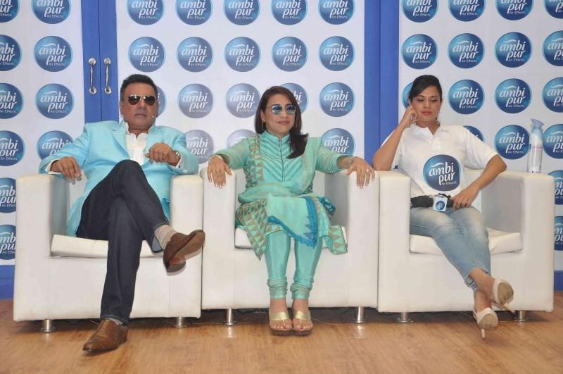 Richa Chadda,Boman Irani,Richa Chadda promote Ambi Pur,Boman Irani Chadda promote Ambi Pur,Ambi Pur