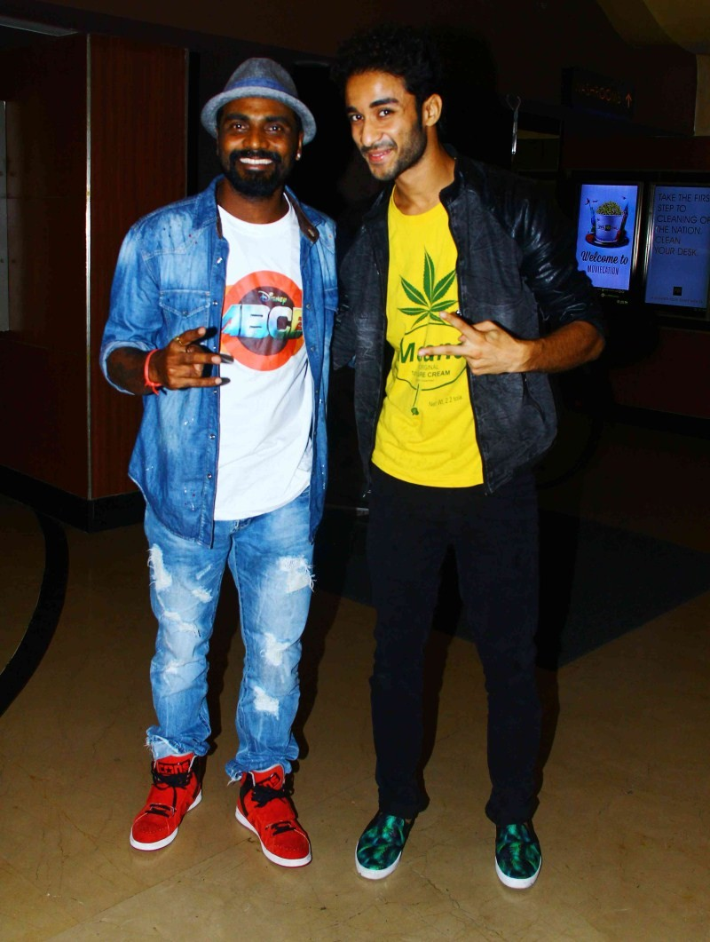 ABCD 2 special screening,ABCD 2 special screening at PVR Juhu,ABCD 2,bollywood movie ABCD 2,Any Body Can Dance 2,Prabhu Deva,Remo D'Souza,Arjun Kapoor,ABCD 2 special screening pics,ABCD 2 special screening images,ABCD 2 special screening photos,ABCD 2 spe