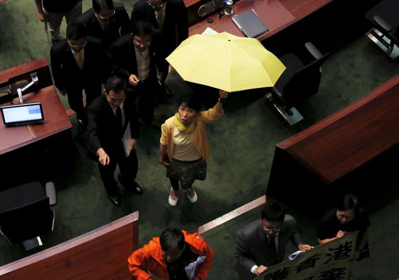 Hong Kong vetoes,China,Hong Kong Legislature,Hong Kong vetoes electoral reform proposal,Hong Kong leader