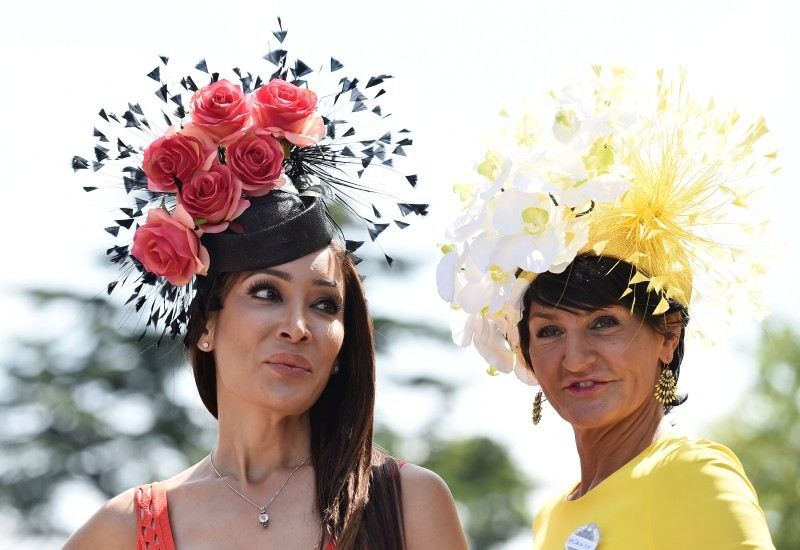 Ladies' Day at Royal Ascot,Royal Ascot,Ladies Day,Sophie Wessex,Ladies' Day at Royal Ascot 2015,Royal Ascot Ladies day,Crazy fashions,Royal Ascot 2015
