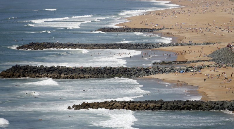 France's Vanishing Beaches,Vanishing Beaches,France Beaches,Vanishing beach,Battle of the beaches,vanishing coastline,huge waves