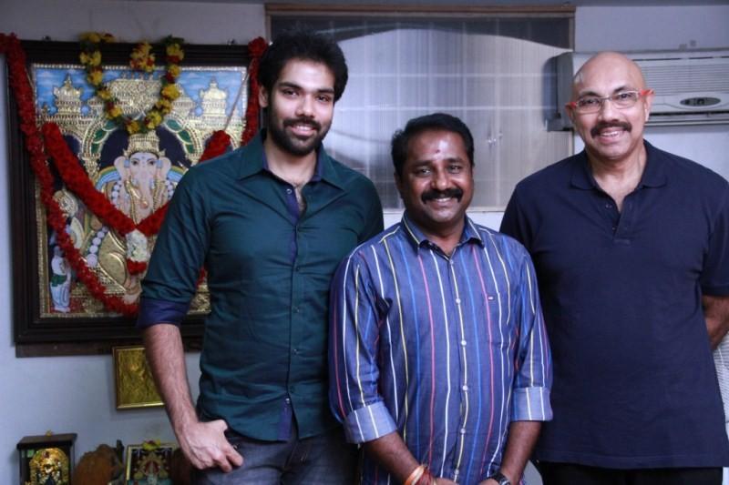 Jackson Durai Movie Launch,Jackson Durai,Movie Launch,Sathyaraj,Sibiraj,tamil movie Jackson Durai,Jackson Durai movie pooja