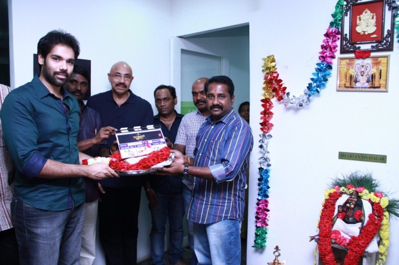 Jackson Durai Movie Launch,Jackson Durai,Movie Launch,Sathyaraj,Sibiraj,tamil movie Jackson Durai,Jackson Durai movie pooja