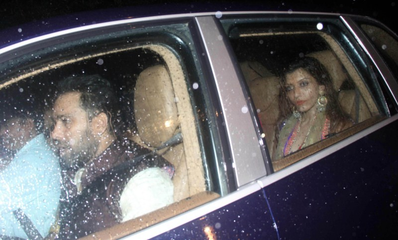 Shahid Kapoor and Mira Rajput,Shahid Kapoor and Mira Rajput Sangeet Ceremony at a Farmhouse,Shahid Kapoor and Mira Rajput Sangeet Ceremony,celebs at Shahid Kapoor and Mira Rajput wedding,Shahid Kapoor and Mira Rajput Sangeet wedding,Shahid Kapoor and Mira