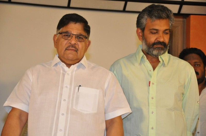 Baahubali,Baahubali Anti Piracy Press Meet,Baahubali Press Meet,Baahubali Anti Piracy Press meet,Baahubali Anti Piracy Press meet pics,SS Rajamouli,Allu Aravind,Simbu Yarlagadda,rana daggubati