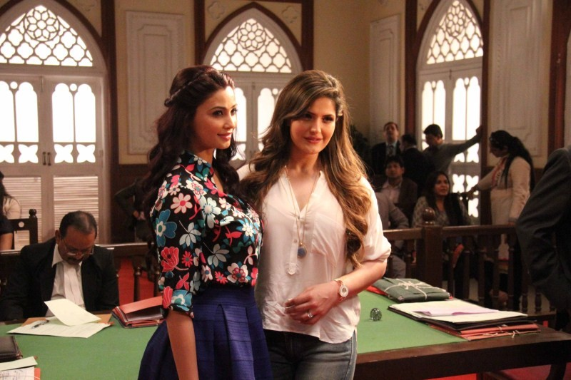 Hate Story 3,bollywood movie Hate Story 3,Hate Story 3 on the sets,Hate Story 3 on location Stills,Hate Story 3 on location pics,Hate Story 3 on location images,Daisy Shah,Zarine Khan
