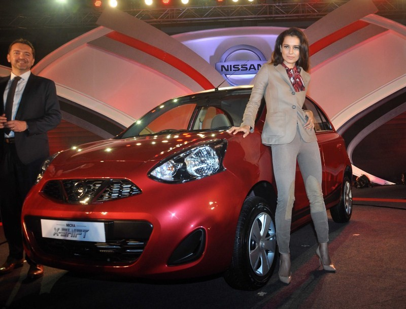 Kangna Ranaut,actress Kangna Ranaut,Kangna Ranaut unveils Nissan's new Micra car,Nissan's new Micra car,Micra car,Nissan Micra,Kangna Ranaut latest pics,Kangna Ranaut images,Kangna Ranaut photos,Kangna Ranaut stills,Kangna Ranaut pictures,Nissan Micra X-S