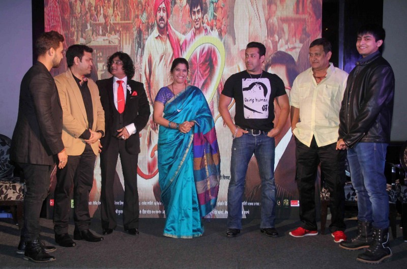 Salman khan,actor Salman khan,Salman khan at trailer launch of marathi film Janiva,Janiva,Janiva trailer launch,marathi film Janiva,marathi movie Janiva,Salman khan latest pics,Salman khan latest images,Salman khan latest photos,Salman khan latest stills