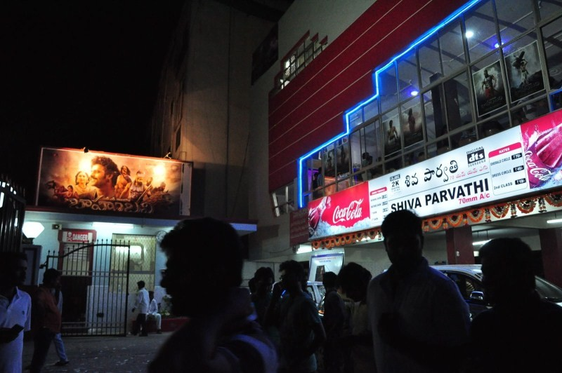 Bahubali,Bahubali First Day First Show,Bahubali First Day First Show Hungama,telugu movie Bahubali,Bahubali fans celebration,Bahubali celebration
