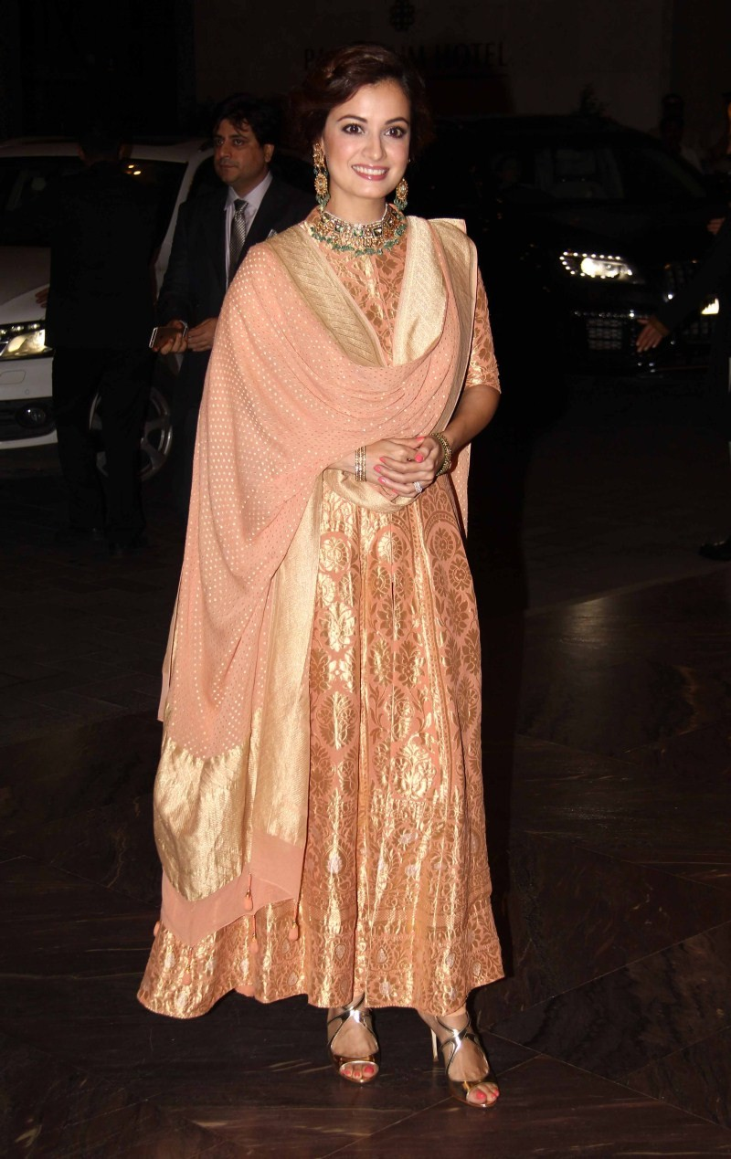 Dia Mizra at Shahid Kapoor Wedding Reception,Dia Mizra,actress Dia Mizra,Shahid Kapoor Wedding Reception,Shahid Kapoor Wedding Reception pics,Shahid Kapoor Wedding Reception images,Shahid Kapoor Wedding Reception photos,Dia Mizra latest pics,Dia Mizra lat