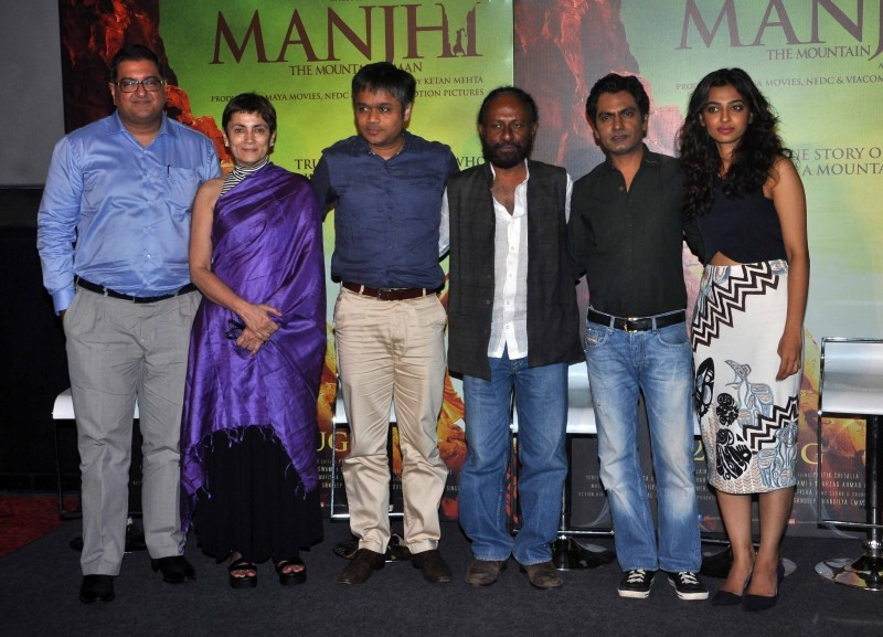 Manjhi - The Mountain Man Trailer Launch,Manjhi - The Mountain Man Trailer Launch pics,Manjhi - The Mountain Man Trailer Launch images,Manjhi - The Mountain Man Trailer Launch photos,Manjhi - The Mountain Man Trailer Launch stills,Manjhi - The Mountain Ma