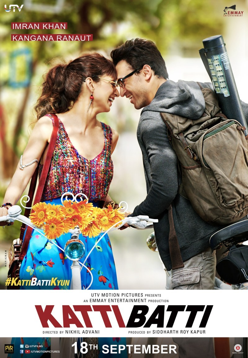 Katti Batti,bollywood movie Katti Batti,Imran Khan,Kangna Ranaut,Kangna Ranaut and Imran Khan,Katti Batti Movie Stills,Katti Batti Movie images,Katti Batti Movie photos,Katti Batti Movie pictures,Katti Batti Movie pics