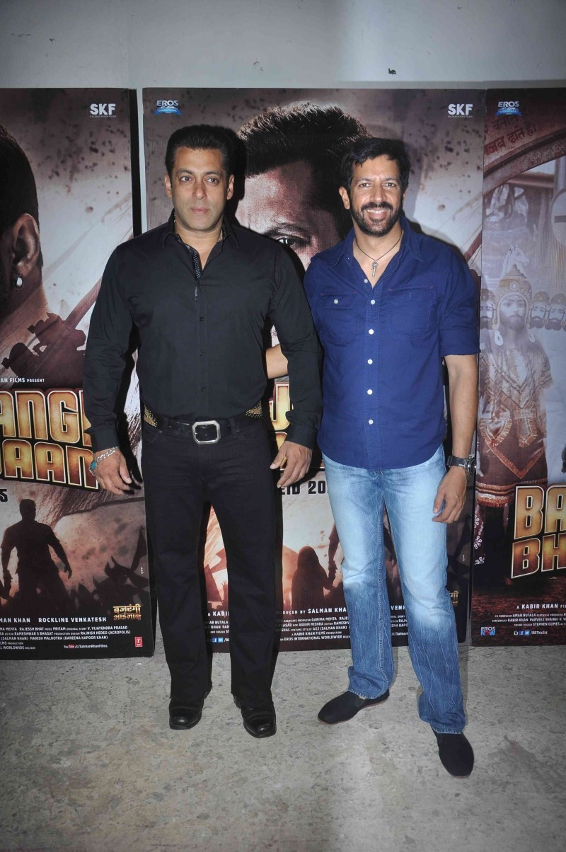 Salman Khan invites Aamir Khan to Watch Bajrangi Bhaijaan,Salman Khan invites Aamir,Bajrangi Bhaijaan,Bajrangi Bhaijaan special screning,Aamir Khan Bajrangi Bhaijaan special screning,Bajrangi Bhaijaan special screening pics,Bajrangi Bhaijaan special scree