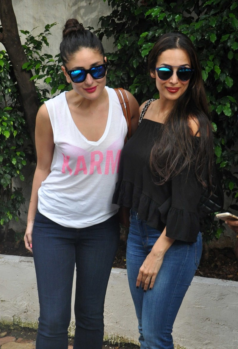 Kareena Kapoor,Malaika Arora Khan,Amrita Arora,Kareena Kapoor,Malaika Arora Khan and Amrita Arora snapped at Olive Bar and Kitchen Bandra,Kareena Kapoor snapped at Olive Bar,Malaika Arora Khan snapped at Olive Bar,Amrita Arora snapped at Olive Bar