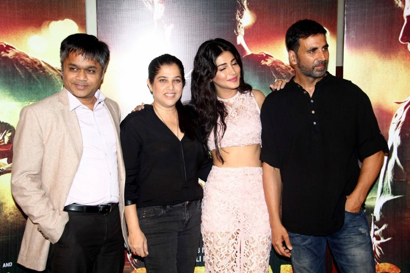 Gabbar is Back Trailer Launch,Gabbar is Back,Gabbar is Back Trailer,Akshay Kumar,Shruti Hassan,Gabbar is Back Trailer Launch pics,Gabbar is Back Trailer Launch images