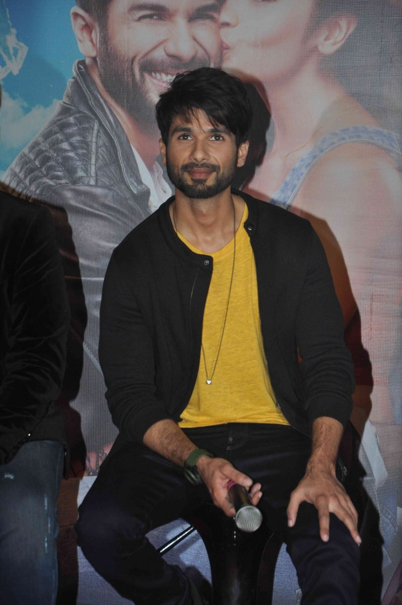 Shahid Kapoor,actor Shahid Kapoor,Shahid Kapoor Latest Pictures,Shahid Kapoor Latest pics,Shahid Kapoor Latest images,Shahid Kapoor Latest photos,Shahid Kapoor at Shaandaar trailer launch,Shaandaar trailer,Shaandaar trailer launch