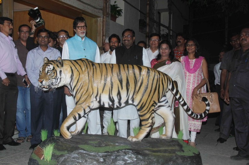Amitabh Bachchan,Amitabh Bachchan as Tiger ambassador of Maharashtra,Amitabh Bachchan as Tiger ambassador,actor Amitabh Bachchan,Amitabh Bachchan latest pics,Amitabh Bachchan latest images,Amitabh Bachchan latest photos,Amitabh Bachchan latest stills,Amit