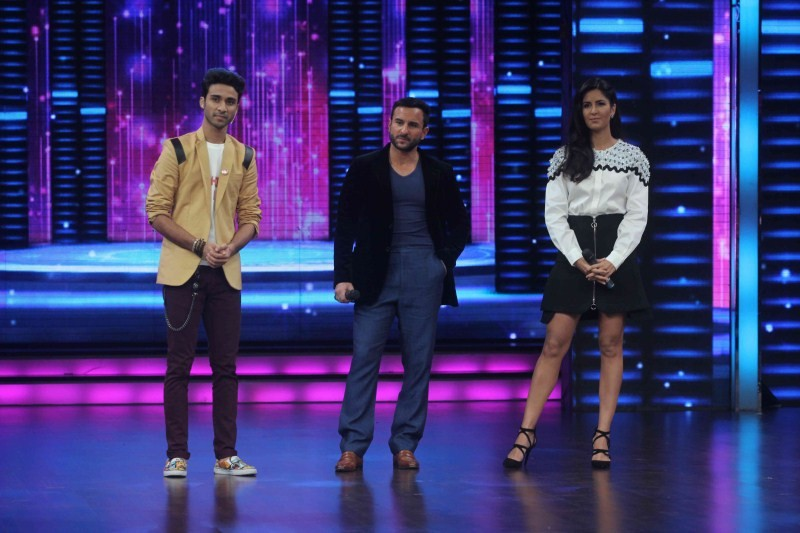 Saif Ali Khan,Katrina Kaif,Saif Ali Khan and Katrina Kaif,Dance Plus Show,Phantom,Phantom movie promotion,Phantom movie promotion on Dance Plus Show