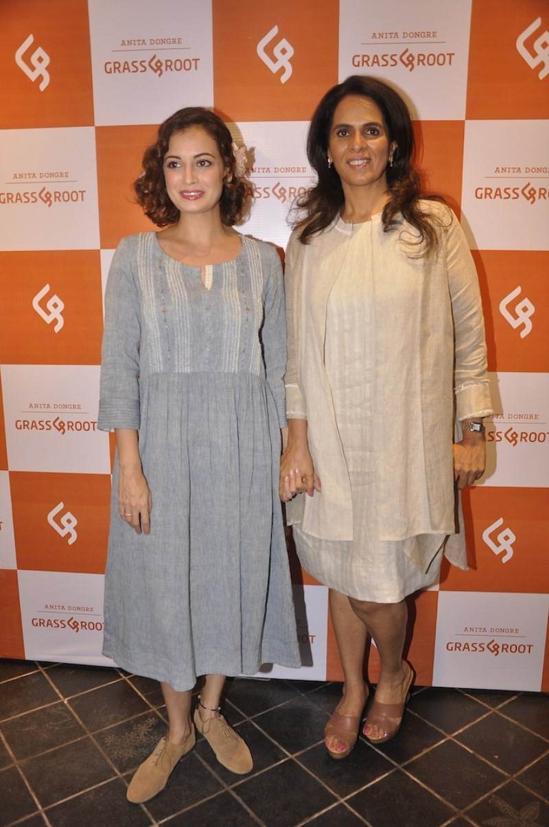 Dia Mirza,Raveena Tandon,Diana Penty,Swara Bhaskar,Grass & Root New Designs Launch,Grass & Root New Designs