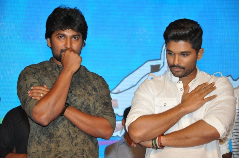 Allu Arjun,nani,Bale Bale Magadivoy Audio Launch,Bale Bale Magadivoy,Lavanya Tripathi,Allu Aravind,Bale Bale Magadivoy Audio Launch pics,Bale Bale Magadivoy Audio Launch images,Bale Bale Magadivoy Audio Launch photos,Bale Bale Magadivoy Audio Launch still