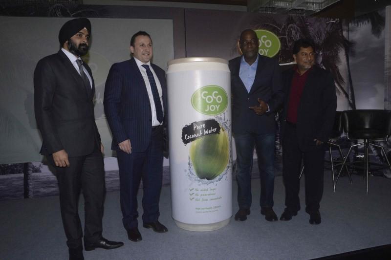 Vivian Richards launches Coco Joy,Vivian Richards,Coco Joy,Coco Joy in india,Food & Beverages,Cricket legend Sir Vivian Richards,Cricket legend Vivian Richards