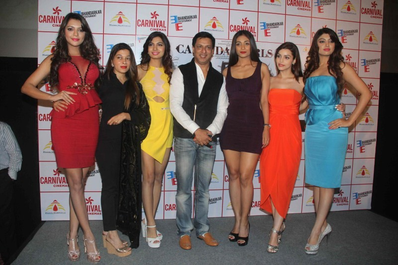 Madhur Bhandarkar,Calendar Girls,Calendar Girls Trailer Launch,Calendar Girls Trailer Launch pics,Calendar Girls Trailer Launch images,Calendar Girls Trailer Launch photosd,Ruhi Singh,Sangeeta Ahir,Avani Modi,Satarupa Pyne,Akanksha Puri