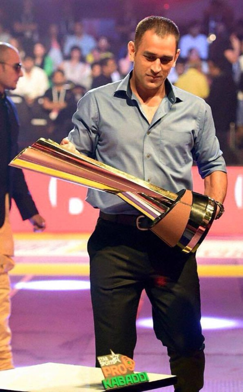 MS Dhoni,Pro Kabaddi League 2015 Final,Pro Kabaddi,Pro Kabaddi League Final,U Mumba vs Bengaluru Bulls,U Mumba,Bengaluru Bulls