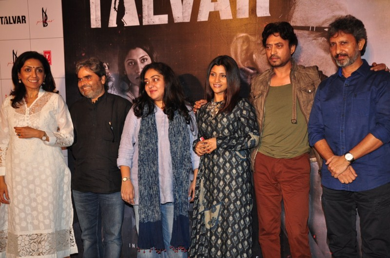 Irrfan Khan,Konkona Sen Sharma,Irrfan Khan at Talvar Trailer Launch,Konkona Sen Sharma at Talvar Trailer Launch,Talvar Trailer Launch,Talvar Trailer Launch pics,Talvar Trailer Launch images,Talvar Trailer Launch photos,Talvar Trailer Launch stills,Talvar