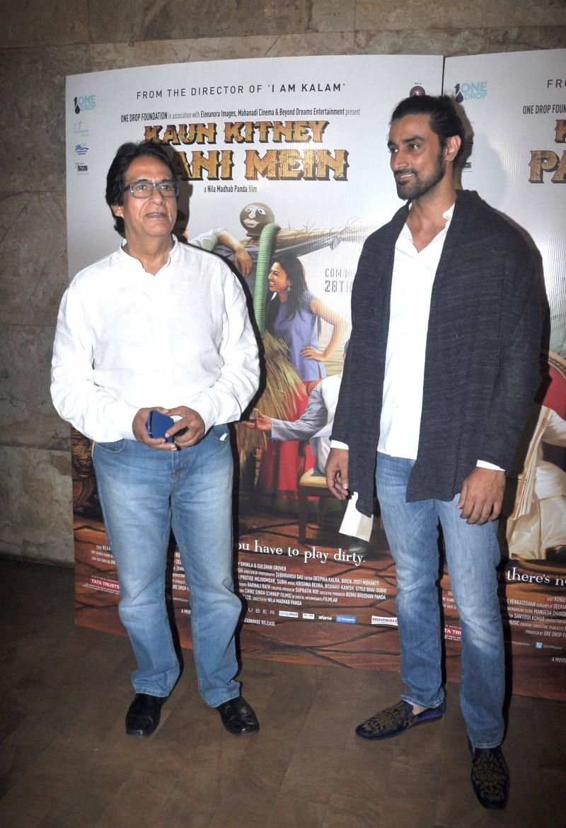Hrithik Roshan,Imran Khan,Kunal Kapoor,Dia Mirza,Kaun Kitney Paani Mein,Kaun Kitney Paani Mein special screening,celebs at Kaun Kitney Paani Mein special screening