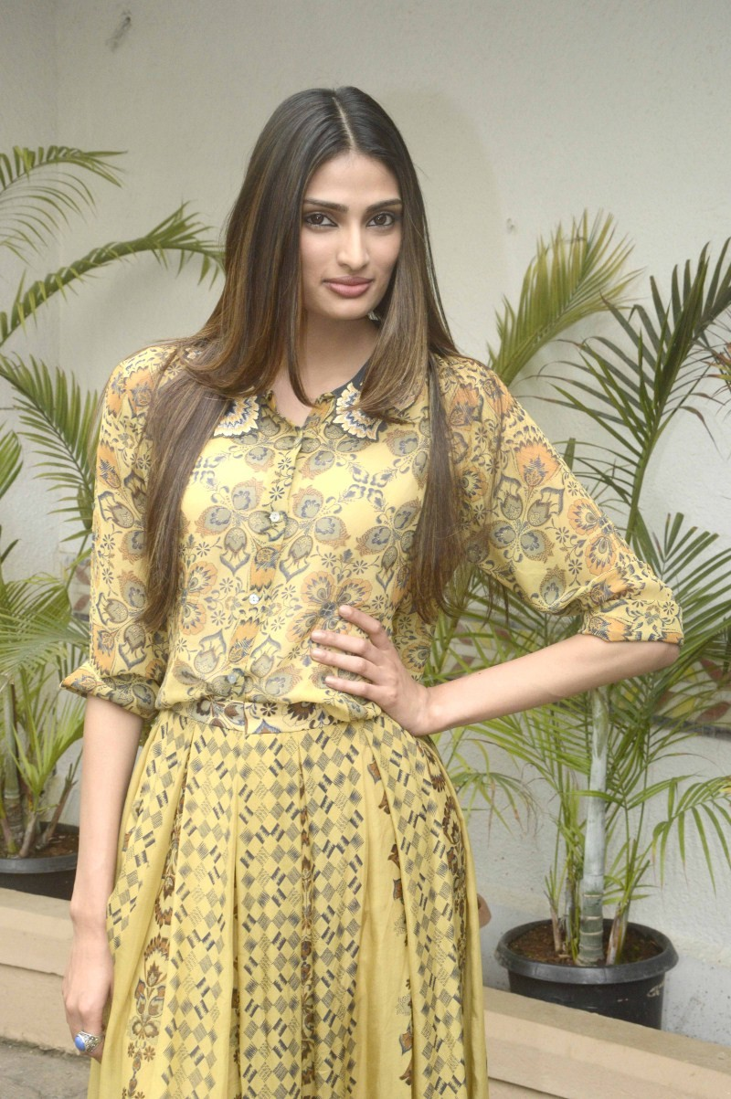 Suraj Pancholi,Athiya Shetty,hero,hero movie promotion,Suraj Pancholi promotes Hero Movie,Athiya Shetty promotes Hero Movie