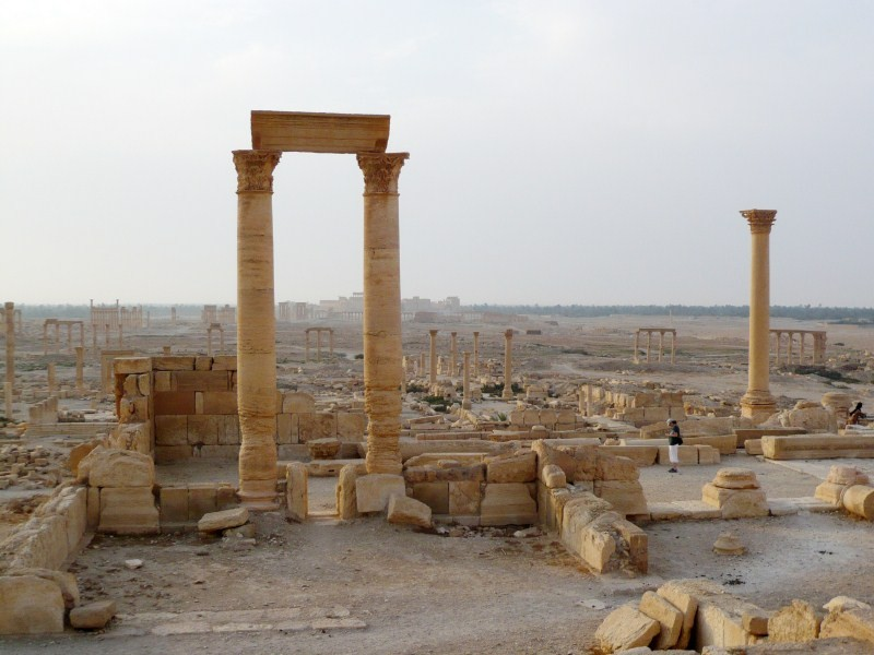 ISIS,Syria Palmyra Ruins,Islamic State,Palmyra city,Islamic State Blows Up Temple of Bel,ancient temple,ancient temple in Syria