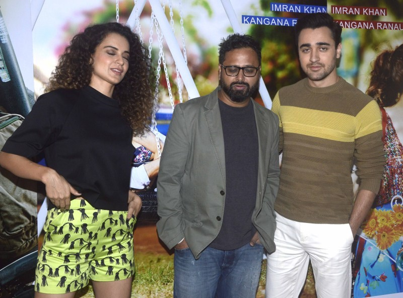 Kangna Ranaut,Imraan Khan,Katti Batti,bollywood movie Katti Batti,Kangana and Imran,Actress Kangana,Kangana latest pics,Kangana latest images,Kangana latest photos,Kangana latest stills,Kangana latest pictures