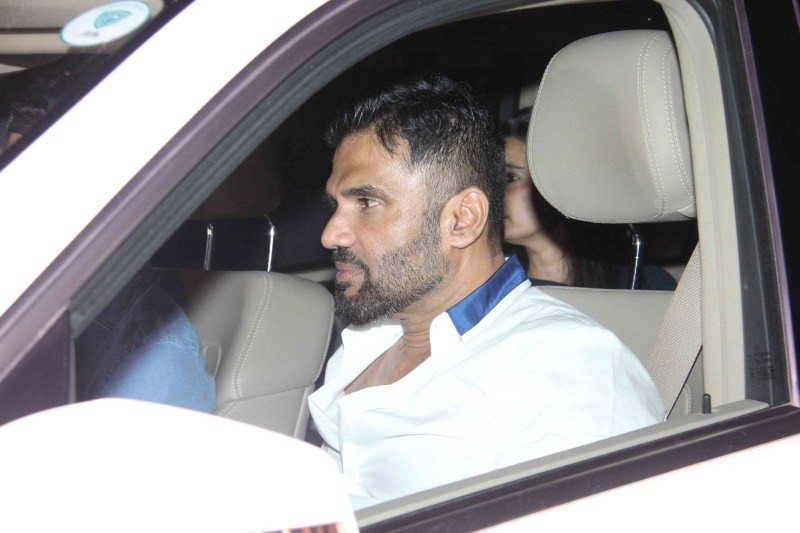 Hero Special Screening,Special Screening of Hero,Special Screening of Hero at Yash Raj Studios,Yash Raj Studios,Sunil Shetty,Sooraj Pancholi,salman khan,Hero Movie Special Screening,Hero Movie Special Screening pics,Hero Movie Special Screening images,Her
