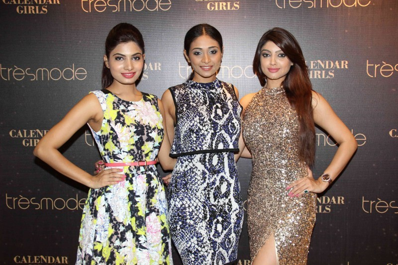Calendar Girls,Calendar Girls visits Tresmode Store,Tresmode Store,Akanksha Puri,Avani Modi,Kyra Dutt,Ruhi Singh,Satarupa Pyne