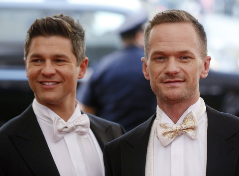Gay Couples,Famous Hollywood Gay Couples,Hollywood Gay Couples,Elton John,Ellen DeGeneres,George Takei,Ellen Page,Samantha Thomas,Neil Patrick Harris,David Burtka