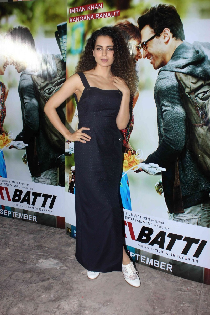 Katti Batti,Imran Khan,Kangana Ranaut,Imran and Kangana,Media Interaction,Katti Batti Media Interaction,Nikhil Advani,Katti Batti movie promotion